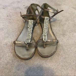 Mossimo gladiator sandals!